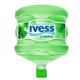 botellon ivess agua mineral bajo sodio catamarca la rioja retornable 12 litros